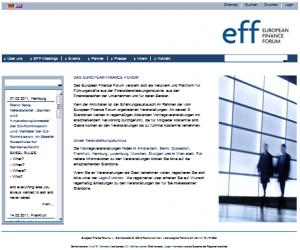 eff Europäisches Finanz Forum e.V.
